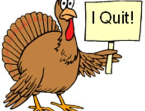 This Bird Goes Cold Turkey!